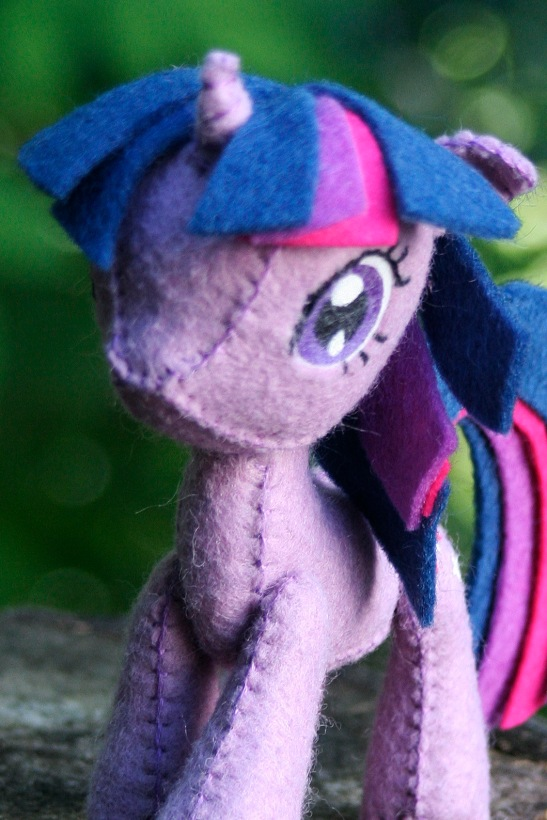 felt Twilight Sparkle